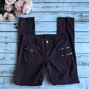 Rue 21 Deep Purple Skinny Jeans